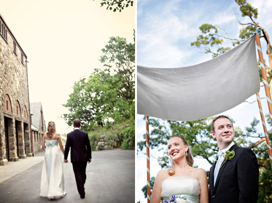 Cari & Dan: married at Blue Hill at Stone Farms in Upstate New  York