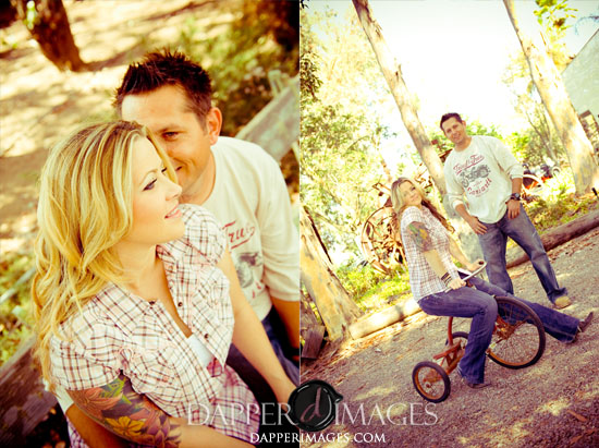 Trailer Trash Hollow Engagement Session :: Brandi + Chris