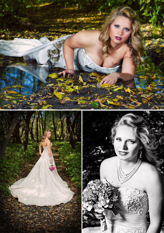 Bridal Session - Trash the Dress | Yvonne Denault Photography