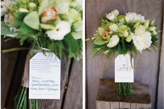 Bouquet Tags