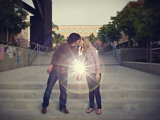 UC Irvine Engagement Photos - Heatherly & Chaz