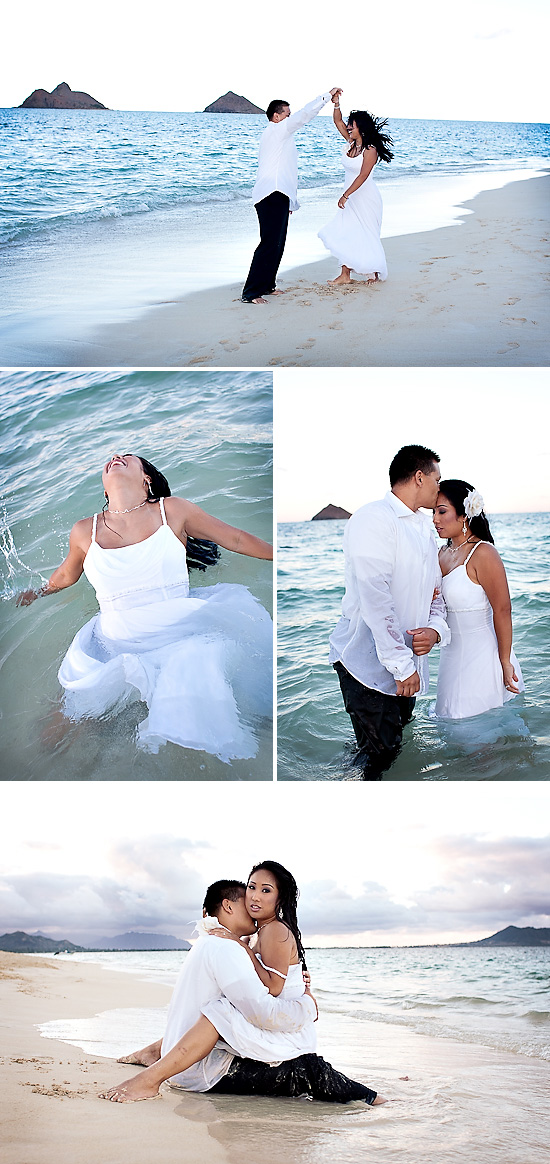 Hawaii Destination Wedding - Trash The Dress Session | Ashleigh Taylor