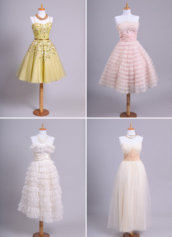 Vintage Wedding Gowns From Mill Crest Vintage