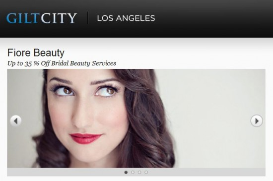Fiore Beauty on Gilt Groupe!