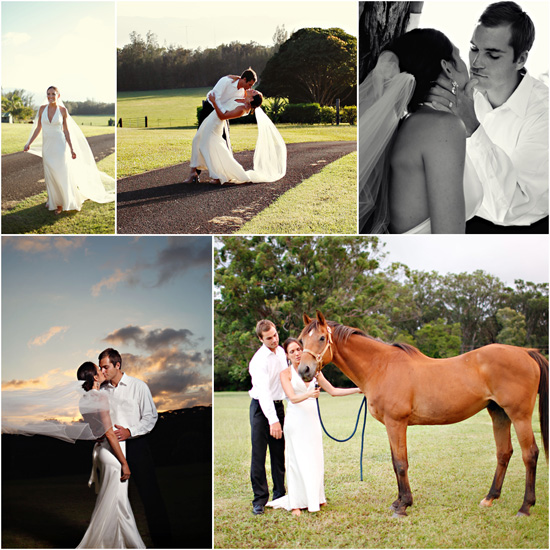 Maleah + Matt at Sunset Ranch Hawaii
