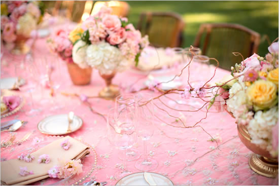 Pink Wedding Decor Ideas