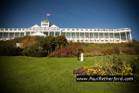 paul retherford wedding photography mackinac island michigan