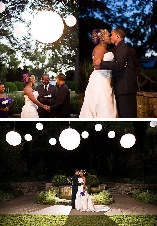 Jenn & Ricky's Evening Dallas Arboretum Wedding!