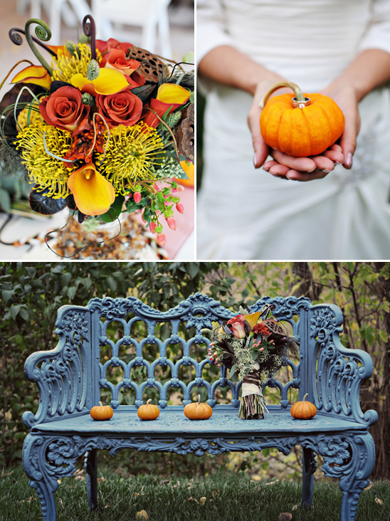 Harvest Inspired Colorado Wedding