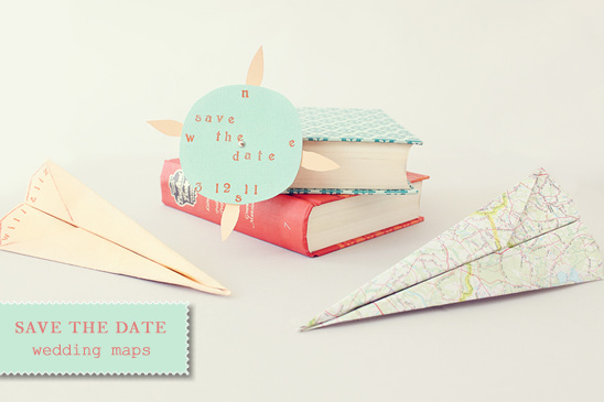 Do It Yourself Save the Date Wedding Maps