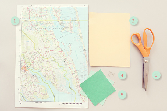 Do it yourself save the date wedding maps solutioingenieria Gallery