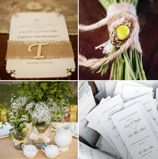 DIY Daisy Inspired Wedding Ideas