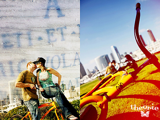 San Diego Wedding Photographer, San Diego, Theorie, Urban Downtown, Bicycle, Modern, Artsy, Engagement Session