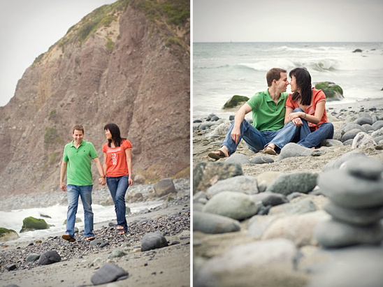 Dana Point, Orange County Engagement Photos
