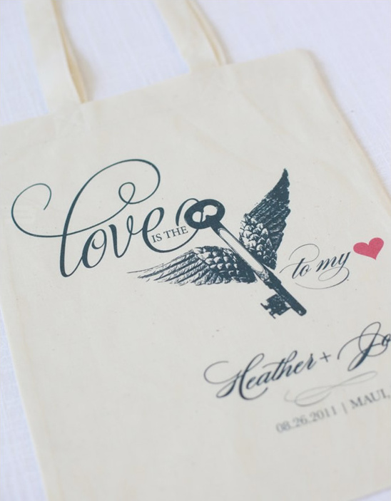 Budget Friendly Wedding Totes