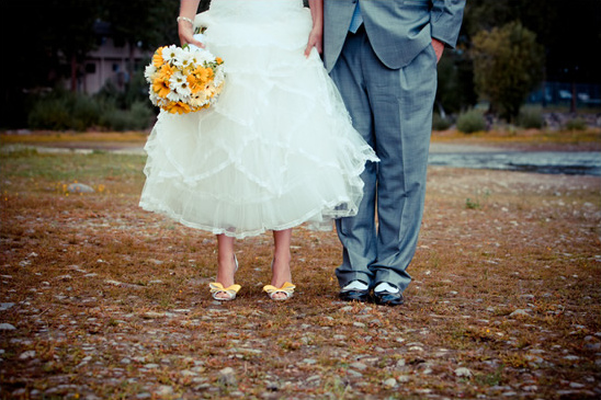 Sunshine Yellow Wedding In Lake Tahoe