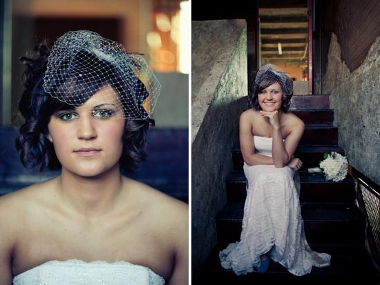 Does a birdcage veil ever get old?
