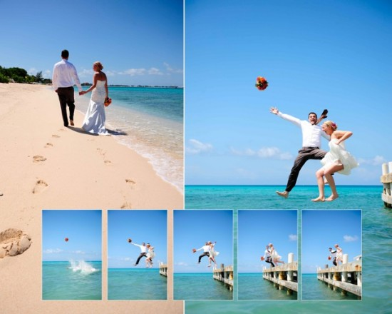 Cayman Islands Real Wedding :: Ashley and Todd, The Reception and fun portraits!