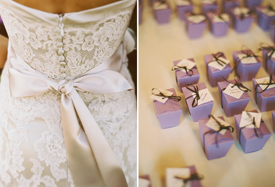 Purple And Lace North Carolina Wedding