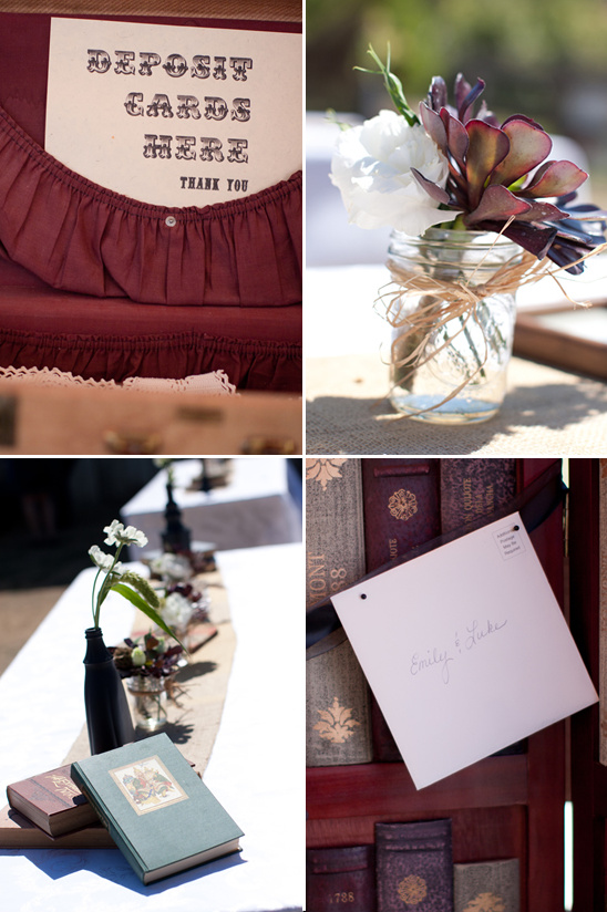 Barn Yard Wedding With Antique Touches
