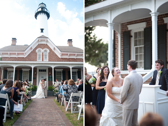 St. Simons lighthouse wedding