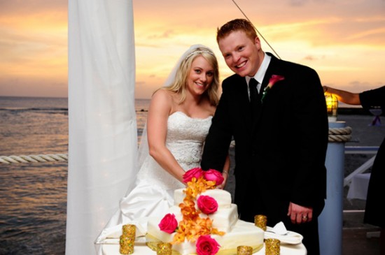 Cayman Islands Real Wedding