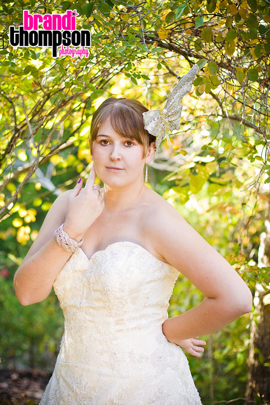 Lisa's eclectic Allen, TX bridal session!