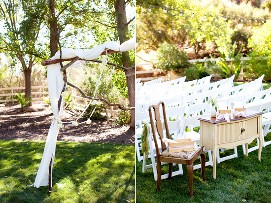 San Diego DIY Backyard Wedding