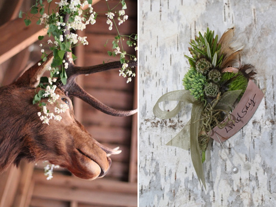 Woodsy and Natural Wedding