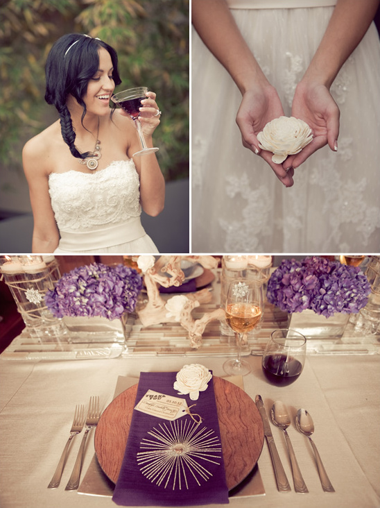 Modern Woodsy Wedding Ideas By Intertwined Events