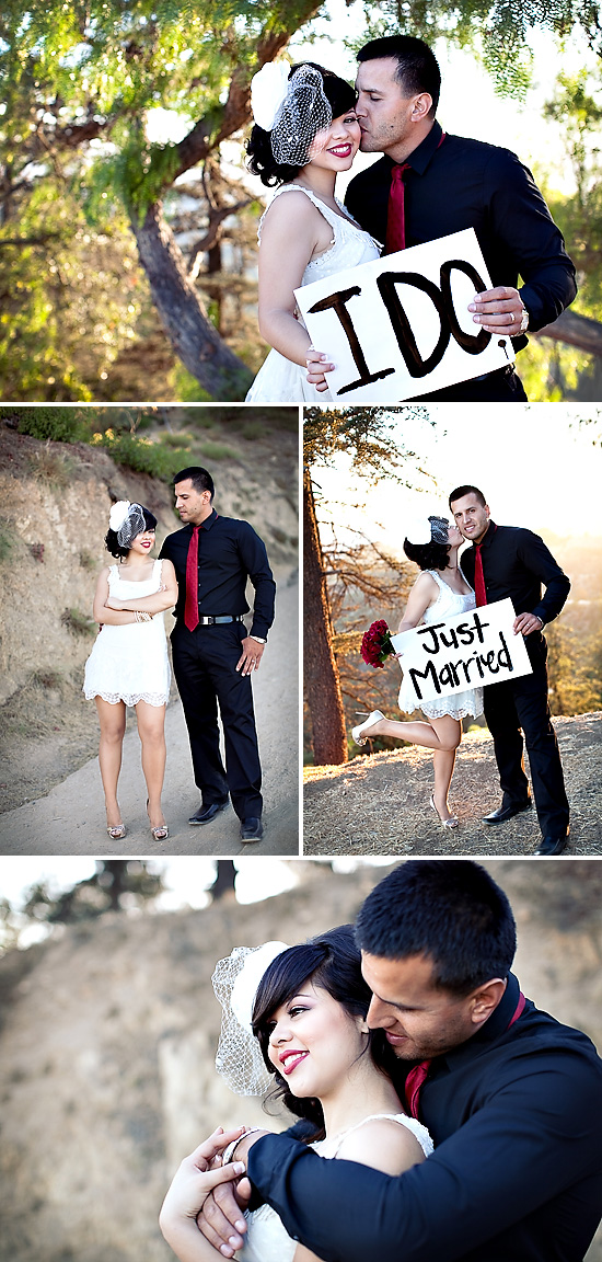 Hollywood Glam Mr. + Mrs. Session by Ashleigh Taylor