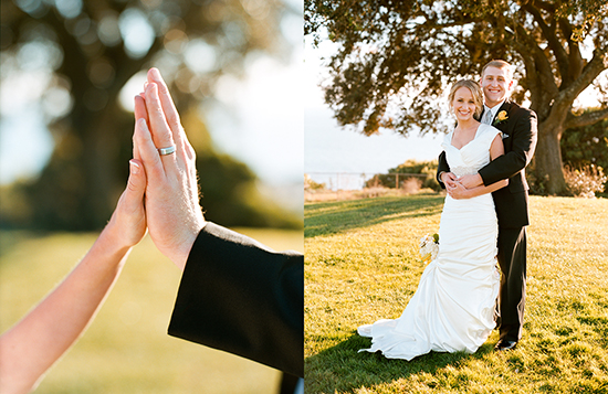 A wedding in Palos Verdes, CA