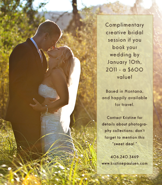 Free Bridal Session