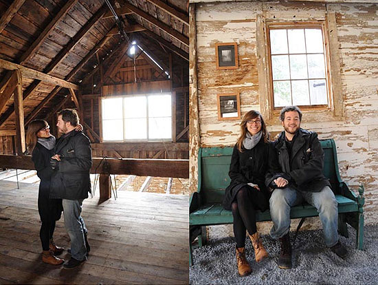 Hudson Valley Barn Engagement Sitting