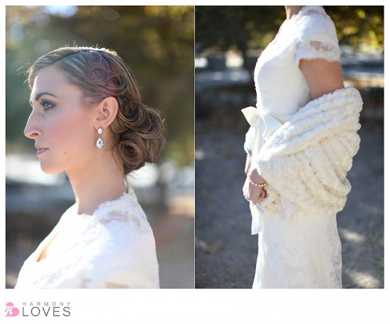 Winter Bridal Shoot | Los Rios Rancho