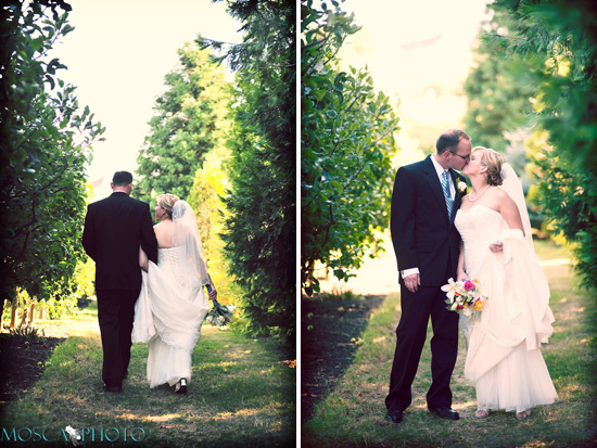 Lots of love in this simple Edgefield wedding in Portland.