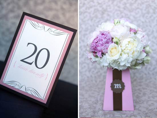 Pink & Brown Wedding Inspiration