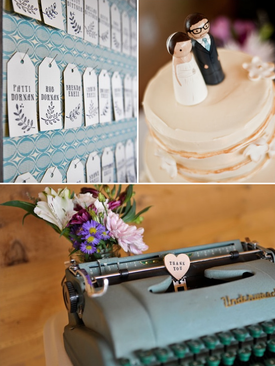 Vintage Wedding by Little Birds Weddings