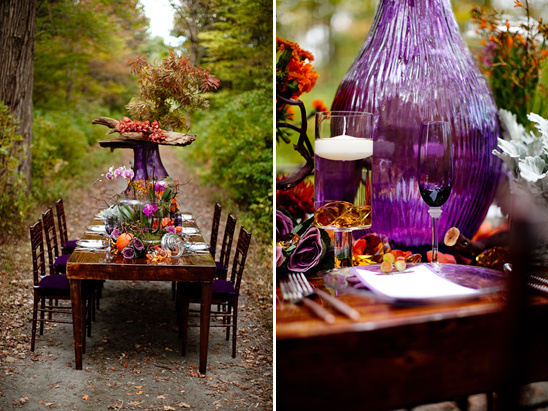 Fall Inspired Wedding Style by Tyra Bleek