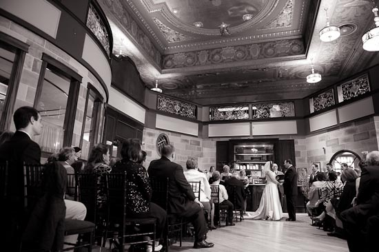 Society Room of Hartford Wedding / Doug and Katherine