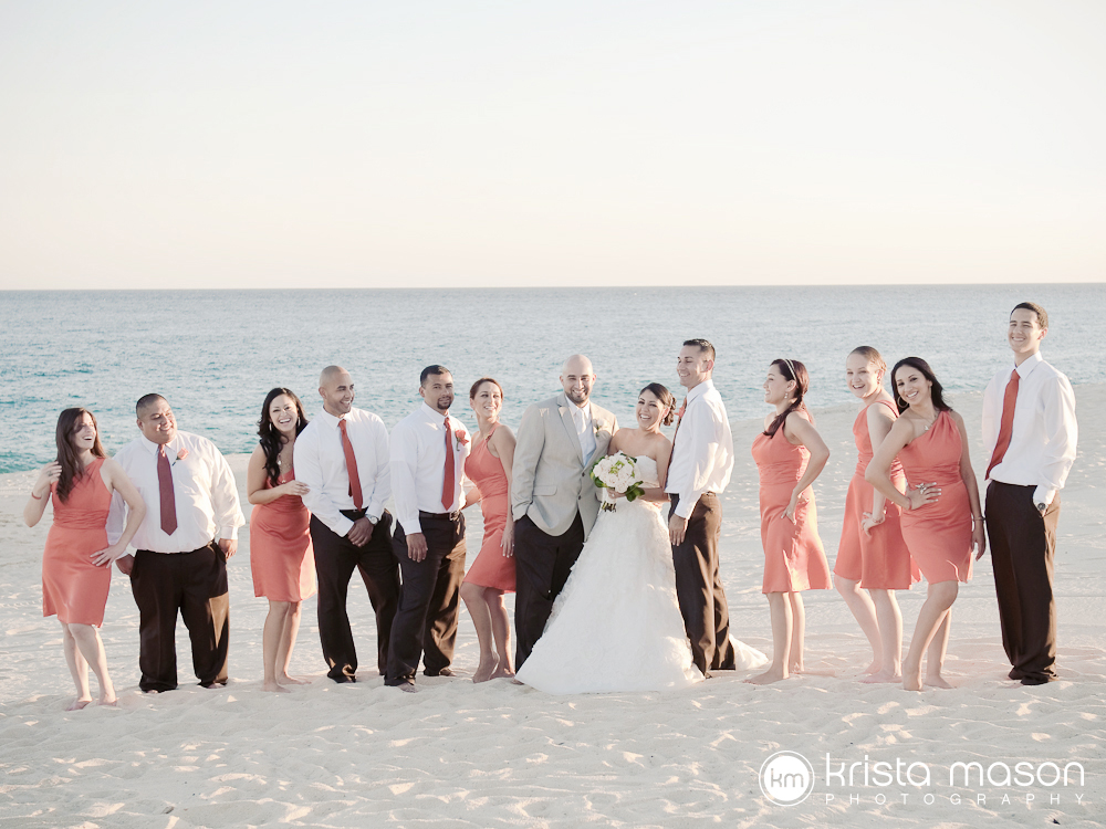 {jannet + eric | wedding | cabo san lucas, mexico | dreams los cabos}