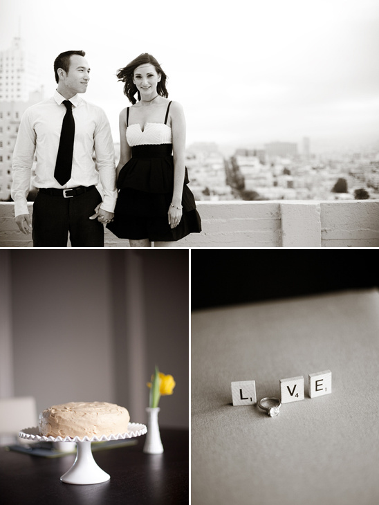 Modern Engagement Shoot From Jessamyn Harris