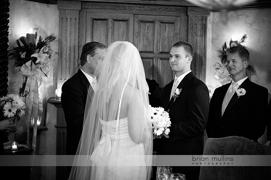wine cellar wedding at angus barn