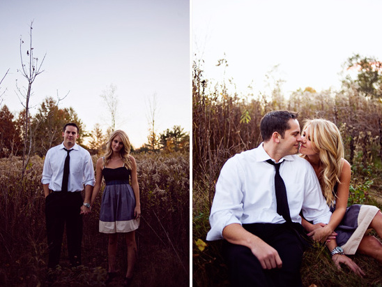 Ann Arbor Michigan Romantic Engagement