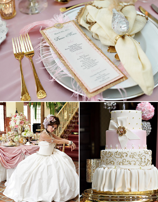 Marie Antoinette Wedding From Tab McCausland