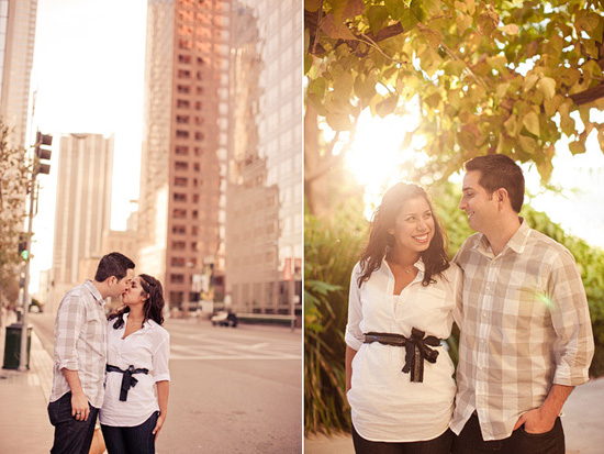 Downtown Los Angeles Engagement [Dave Richards Photography]