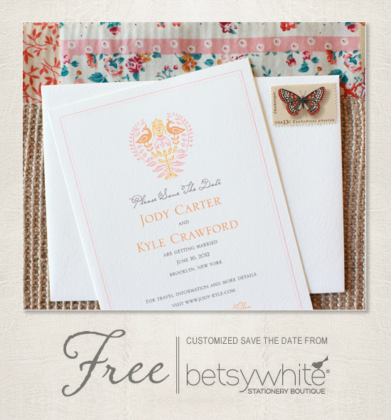 Free Save The Date Template From Betsywhite Stationery