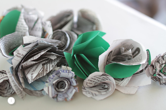 Do It Yourself Eco Friendly Wedding Bouquet