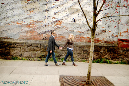 Simple, loving Portland Oregon engagement + wedding.