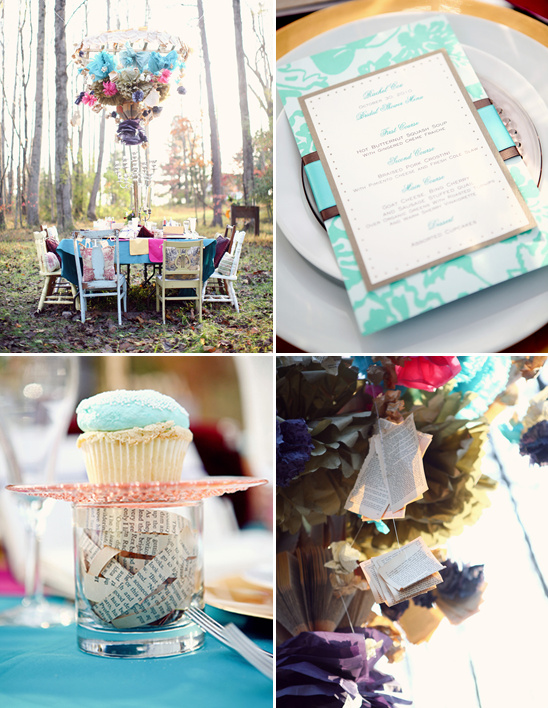 Whimsical Woodland Bridal Shower From Alexa's Photography